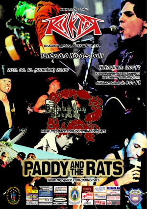 2011. 06. 19: Paddy and the Rats