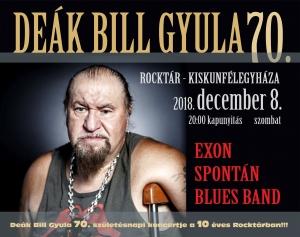 2018. 12. 08: Deák Bill Gyula