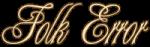 Folk Error logo