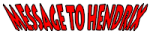 Message To Hendrix logo