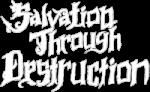 Salvation Through Destruction logo