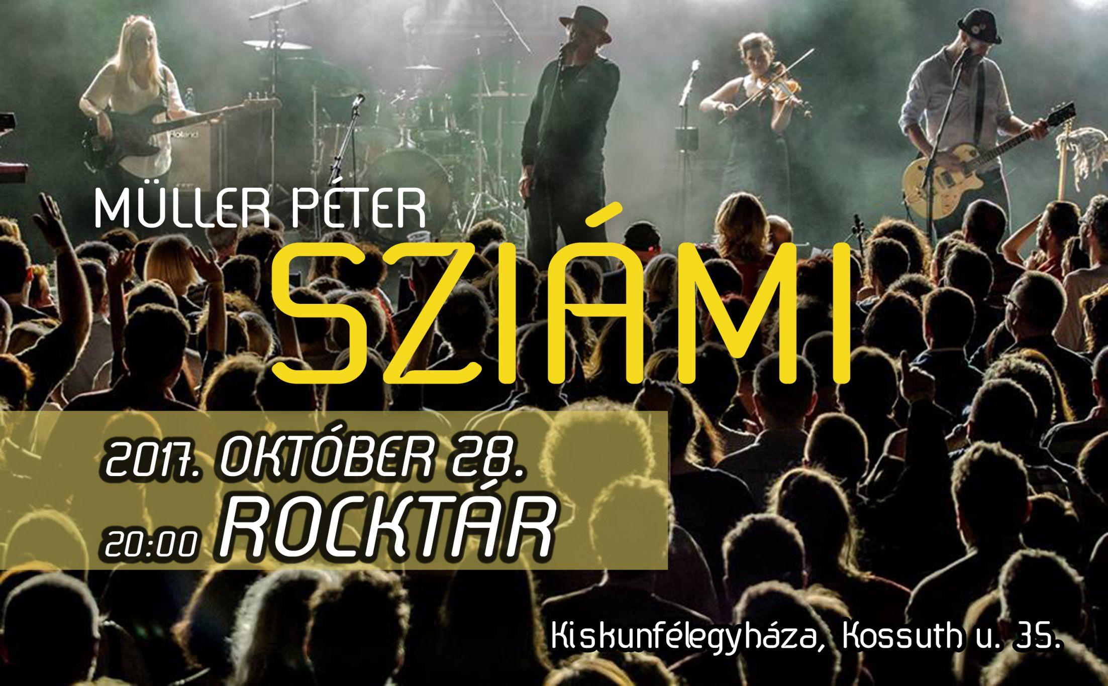2017. 10. 28: Müller Péter Sziámi